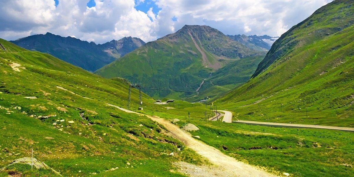 Đường Oberalp Pass ở Thụy Sĩ