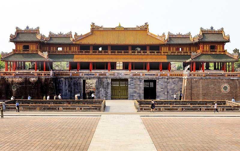 Cổng Ngọ Môn của Đại nội Huế