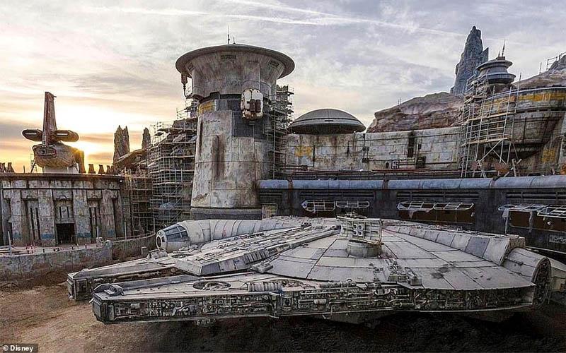 Sắp khánh thành Công viên chủ đề Star Wars 1 tỷ USD tại Mỹ