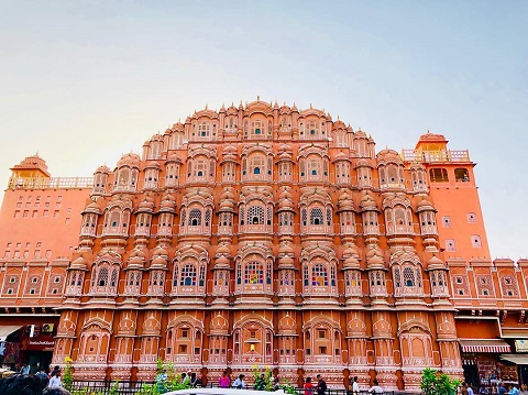 Hawa Mahal - công trình kiến trúc nổi tiếng nhất bang Rajasthan, Ấn Độ.