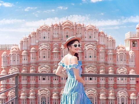 Hawa Mahal là một trong những cung điện đẹp nhất Ấn Độ