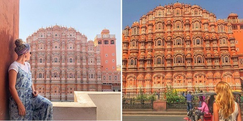 Cung điện Hawa Mahal là địa điểm được check-in nhiều nhất ở Ấn Độ