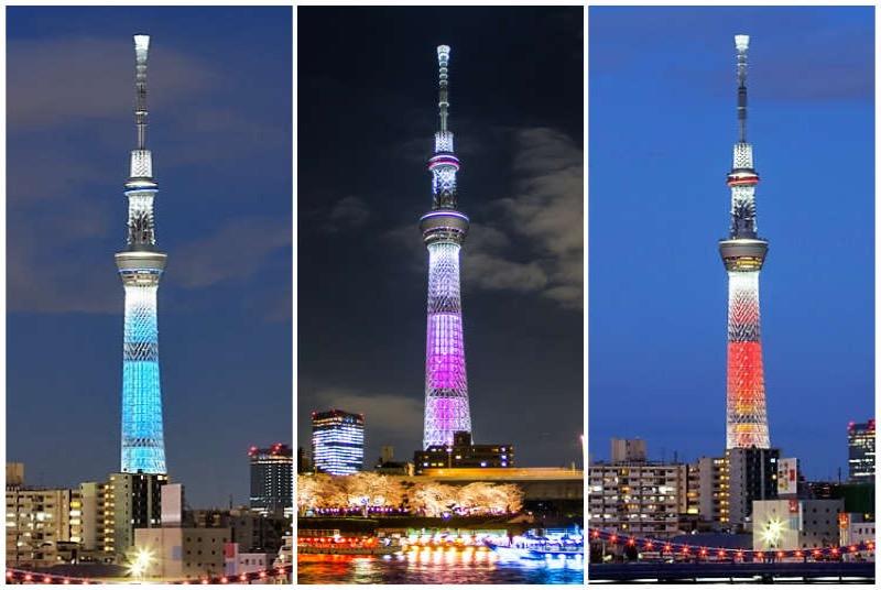 Tháp truyền hình cao nhất thế giới - Skytree