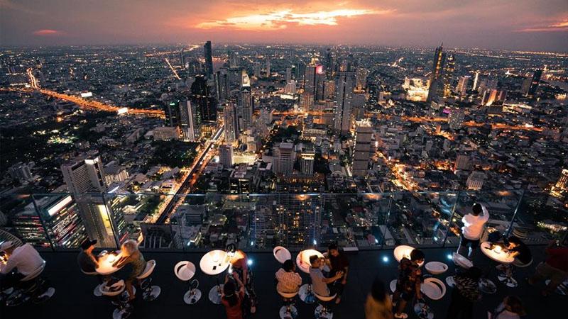 Bên trong Đài quan sát trong suốt cao 314 mét tại Thái Lan