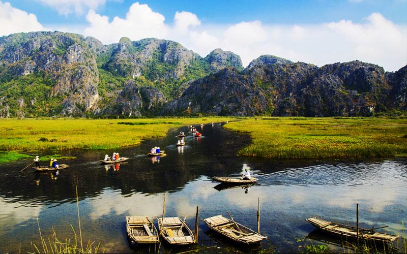 Đầm ngập nước Vân Long được công nhận khu Ramsar quốc tế