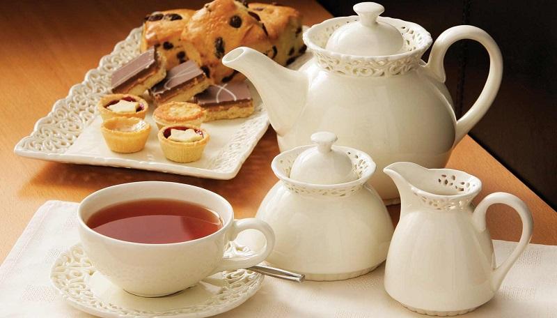 đến Anh thưởng thức tiệc trà