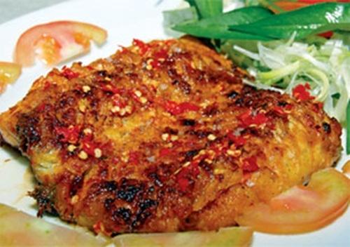 Đẻn biển nướng muối ớt