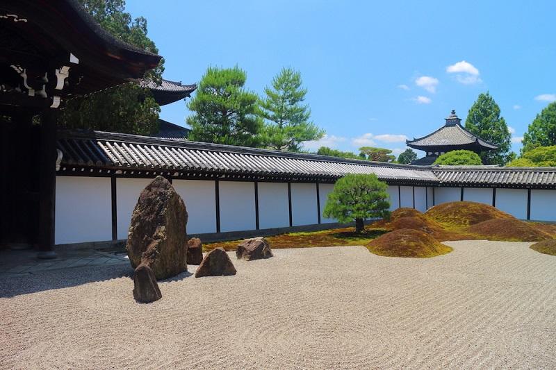 Khuôn viên Đền Tofukuji