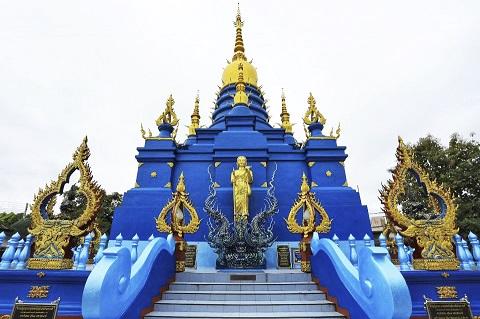 Đền Xanh - Wat Rong Suea Ten