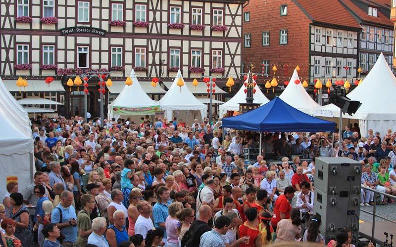 lễ hội đèn lồng Hội An tại Đức