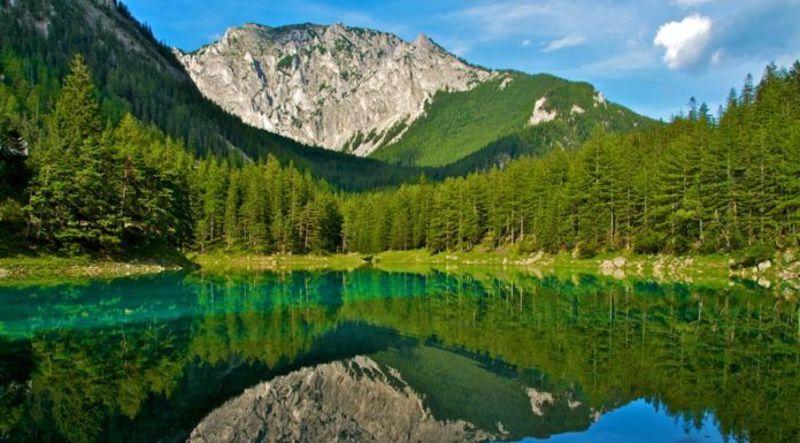 Sở dĩ gọi là hồ Green Lake vì nước ở đây rất trong xanh