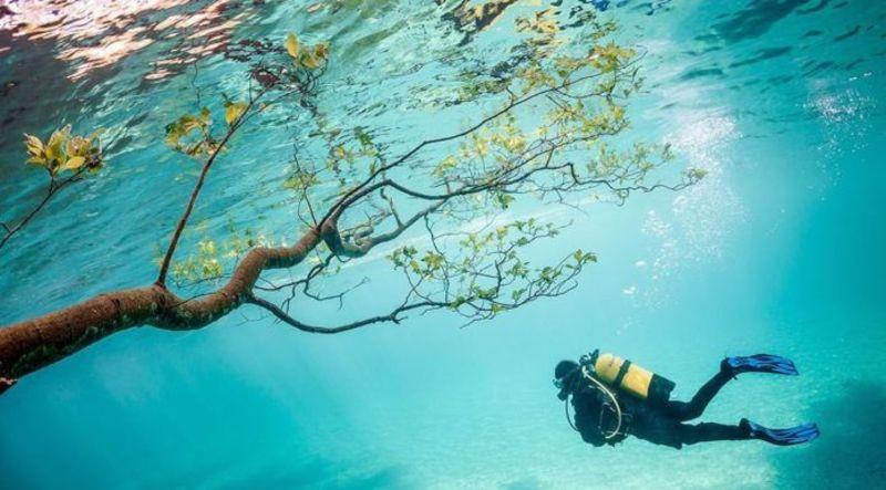 Hồ là địa điểm lý tưởng cho những người yêu thích khám phá, chinh phục tự nhiên