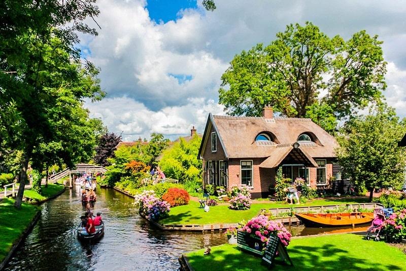 Làng Giethoorn, Hà Lan