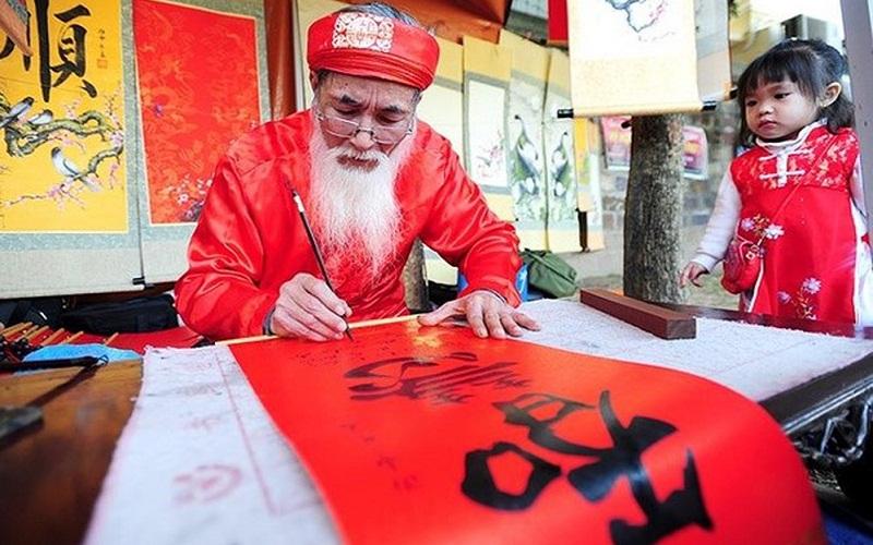 Xin chữ đầu năm - Nét văn hóa đẹp của người dân Việt Nam