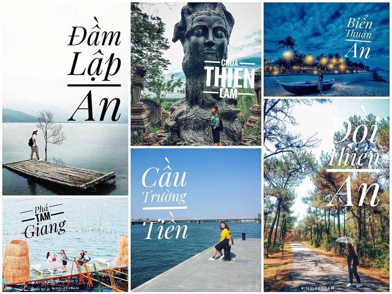 12 địa điểm check-in chill phết ở Huế