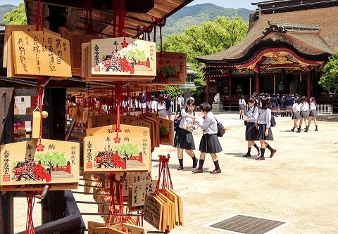 Đền Dazaifu Tenmangu – nơi các sĩ tử không thể bỏ lỡ