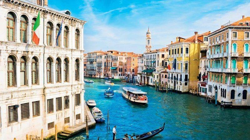 thành phố sở hữu kênh đào đẹp