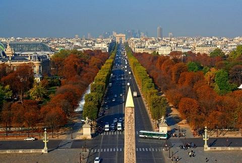 Đại lộ Champs – Elyseés con đường huyết mạch, xa hoa