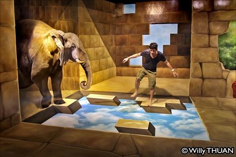 Bảo tàng đánh lừa thị giác Phuket