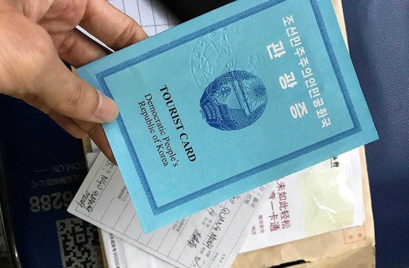 Nếu không có thư mời của chính phủ Triều Tiên bạn buộc phải đi du lịch theo tour