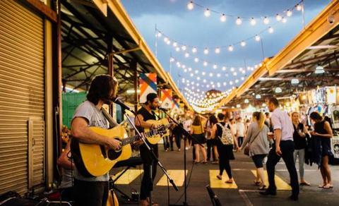 Chợ Queen Victoria cũng là nơi thường xuyên diễn ra các bữa tiệc âm nhạc đặc sắc