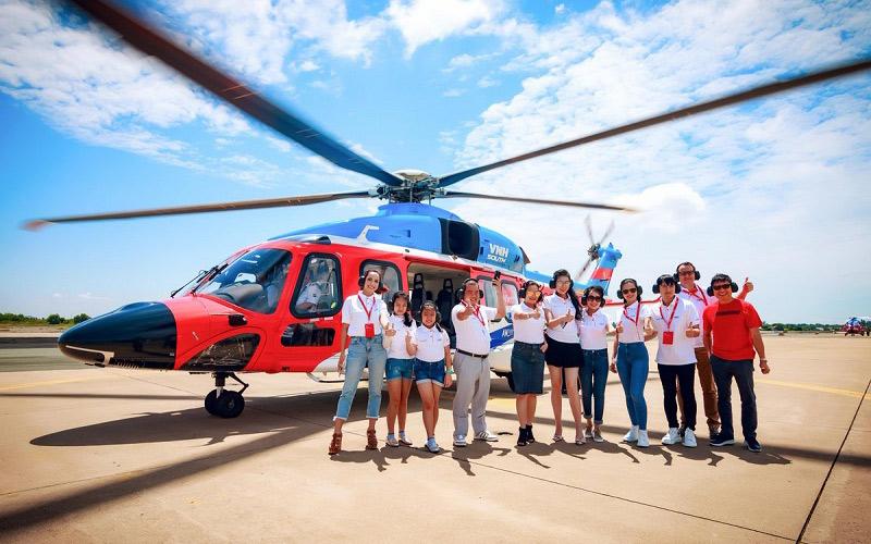 khám phá Côn Đảo bằng trực thăng