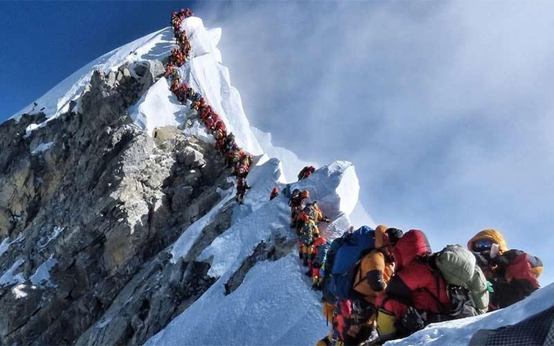 du khách đột tử trên đỉnh Everest