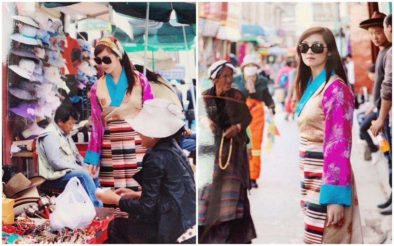 Dạo phố ở Tây Tạng