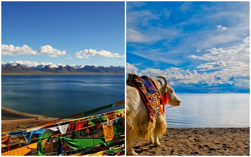 Vẻ đẹp của hồ Namtso Tây Tạng