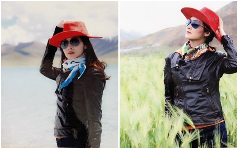 Tây Tạng mang vẻ đẹp tuyệt vời khiến hoa hậu vui vẻ