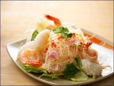 đặc Sản Thai Lan Gỏi Miến Hải Sản