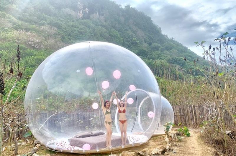 Đến khách sạn bong bóng nổi tiếng