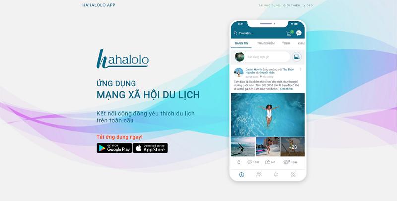 Hahalolo.com - MXH đầu tiên của người Việt: Tiện ích tích hợp, trải nghiệm tuyệt vời