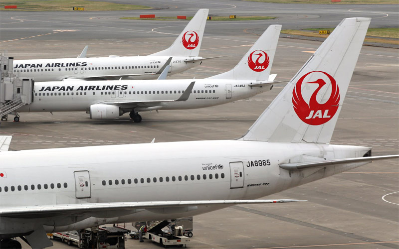 Japan Airlines hủy chuyến bay