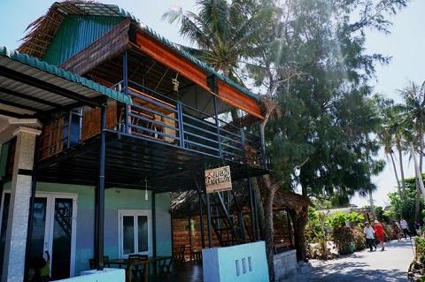Quang cảnh mơ mộng homestay ở đảo Bé Lý Sơn