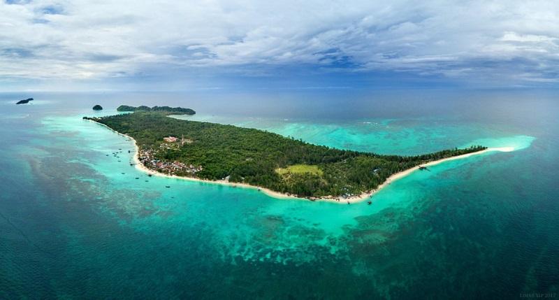 Đảo Mantanani cũng mang đến trải nghiệm lặn tuyệt vời