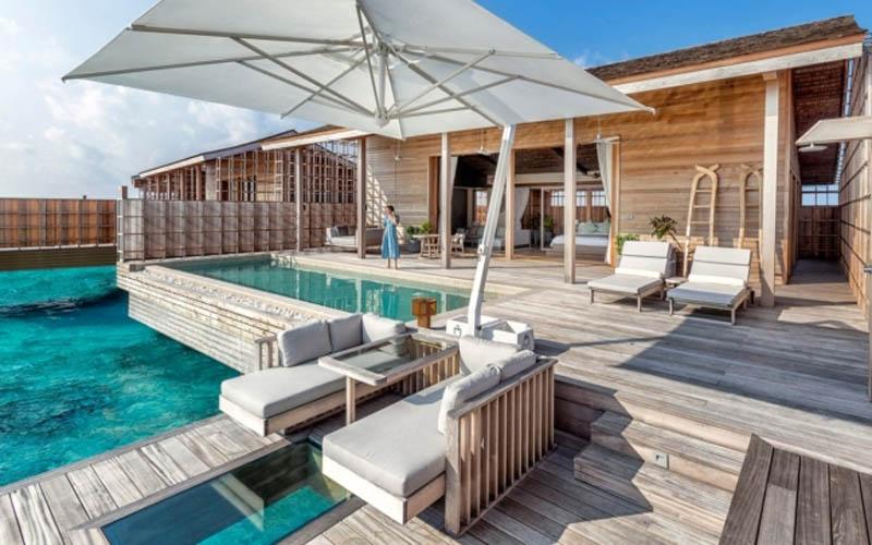 Chiêm ngưỡng vẻ đẹp hoàn hảo của hòn đảo tư nhân Kydoo (Maldives)