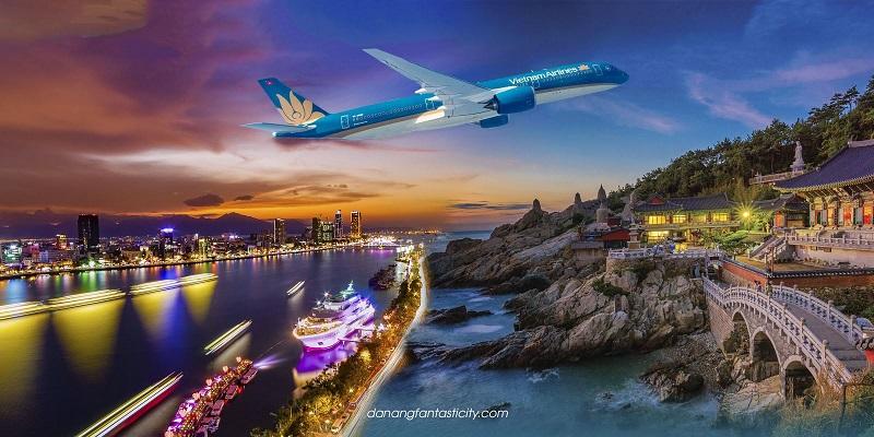 Vietnam Airlines mở đường bay thẳng Đà Nẵng - Busan