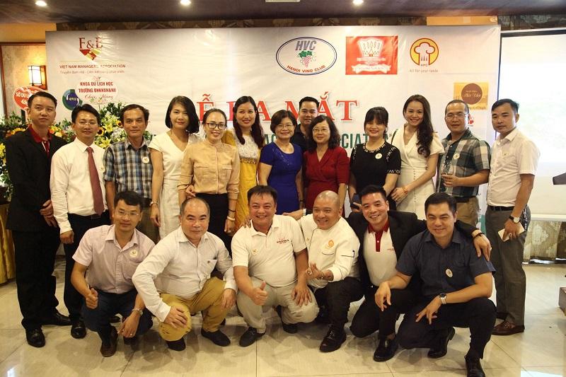 BCH Hội Ẩm thực VN và các đại biểu
