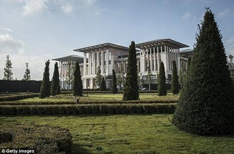 Tham quan dinh thự Tổng thống Thổ Nhĩ Kỳ