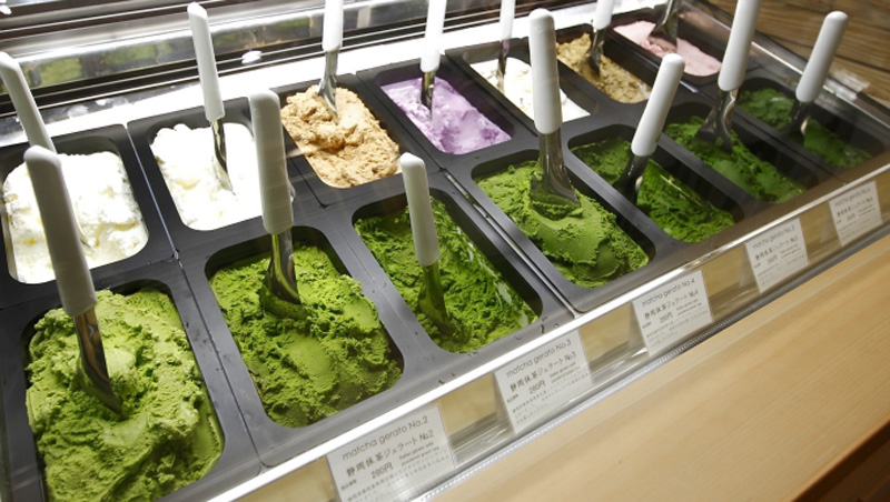 Thử thách bản thân với kem matcha 7 cấp độ ở Nhật Bản