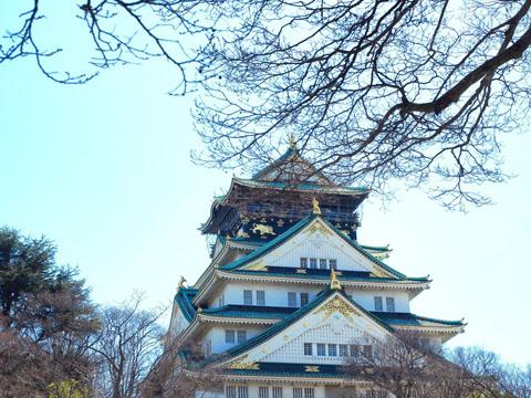 lâu đài hàng ngàn năm ở Nhật.