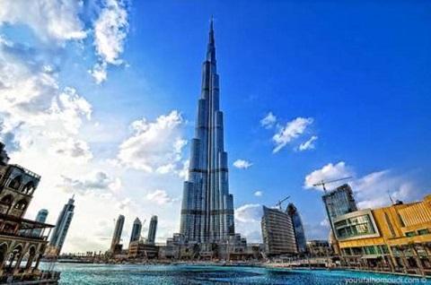 Tháp Burj Khalifa Dubai