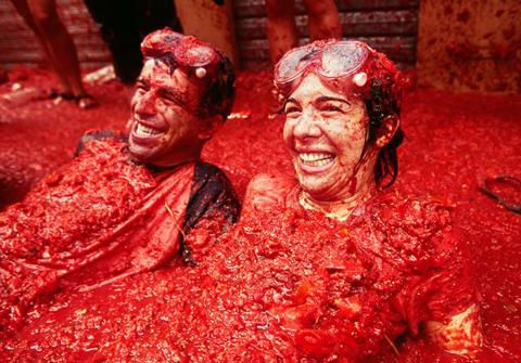 Lễ hội Cà chua La Tomatina Tây Ban Nha