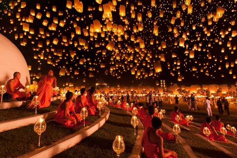Lễ hội đèn lồng Yi Peng, Thái Lan