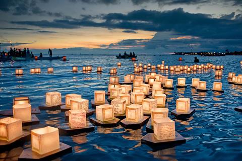 Lễ hội hoa đăng ở Hawaii, Mỹ