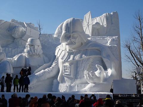 Lễ hội tuyết Sapporo Nhật Bản