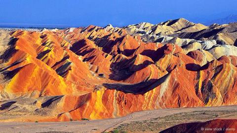 Công viên địa chất Zhangye Danxia, Trung Quốc