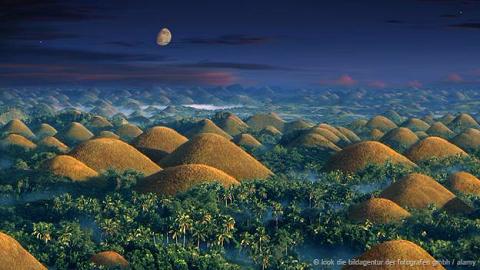 Những ngọn đồi sôcôla, Philippines