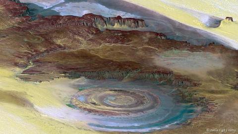 Mắt sa mạc Sahara, Mauritania
